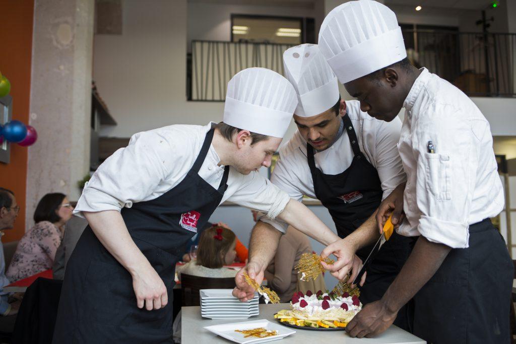 Restaurant-Ecole La Salle a manger a Lyon